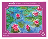 Monet Waterlilies Eco Writer's Notecards