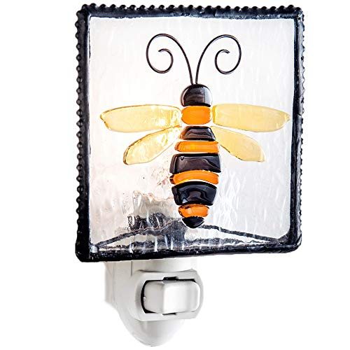 J Devlin NTL 182 Bumble Bee Night Light Decorative Kitchen Bathroom Accent Wall Plug in Lite