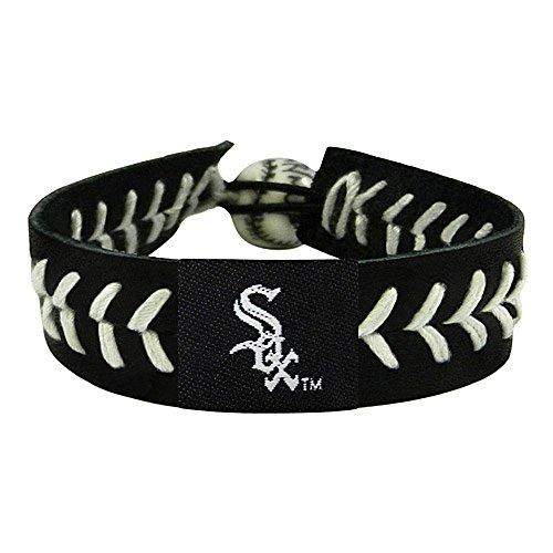 - MLB Chicago White Sox Team Color Baseball Bracelet