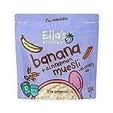 Ella's Kitchen Banana & Cinnamon Muesli 215g - Pack of 6