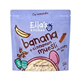 Ella's Kitchen Banana & Cinnamon Muesli 215g - Pack of 4