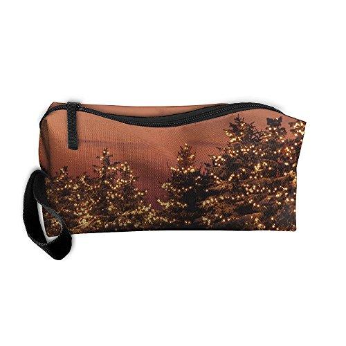 (Toiletry Bag Multifunction Cosmetic Bag Portable Makeup Pouch Travel Hanging Organizer Bag Lighting)