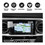 RUIYA 2016 2017 2018 Toyota Tacoma In-Dash Screen Protector, HD Clear Tempered Glass Car Navigation Screen Protective Film