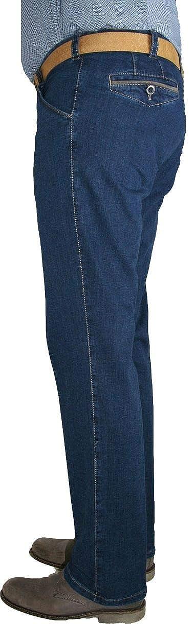 b721131eaba Meyer Herren Stretch Jeans Hose Chicago 1-4166/43 blau Blue Camel:  Amazon.de: Bekleidung