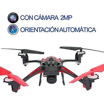 DRONE MEDIANO REBELLIOUS CON CAMARA 2MP: Amazon.es: Juguetes y juegos