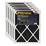 Filtrete Allergen Defense Odor Reduction AC Furnace Air Filter, Delivers Cleaner Air Throughout Your Home, Uncompromised Airflow