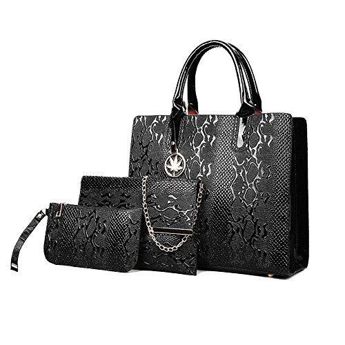 Bolso De Hombro De Las Mujeres Bolso De Gran Capacidad Salvaje De La Moda Paquete Simple Black