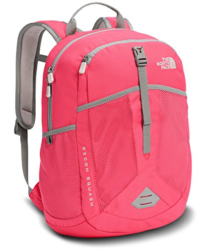 The North Face Youth Recon Squash Backpack Honeysuckle Pink / Purdy Pink