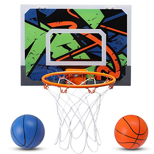 Pro Indoor Mini Basketball Hoop Set for Kids - 16