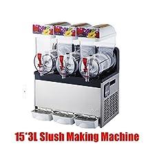 Commercial 3 Tank Frozen Drink Slush Making Machine/slushy Machine/ Smoothie Maker