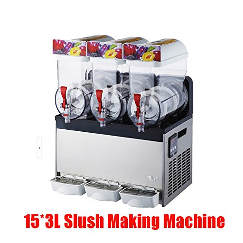 Commercial 3 Tank Frozen Drink Slush Making Machine/slushy Machine/ Smoothie Maker (Frozen Beverage Maker Commercial compare prices)