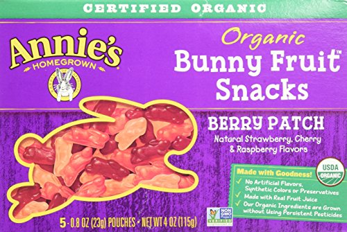 Annie's Homegrown Organic Bunny Fruit Snacks Berry Patch --