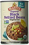 Bearitos Organic Fat-Free Black Refried Beans, 16 Ounce (Pack of 12) For Sale