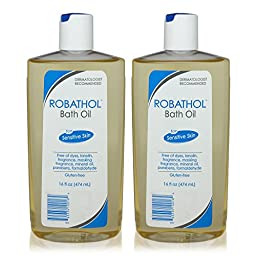 Robathol Bath Oil - 16 oz (Pack of 2)