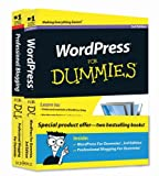 img - for WordPress For Dummies, 3rd Edition and Professional Blogging For Dummies, Book Bundle book / textbook / text book
