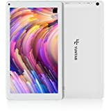 YUNTAB Tablet, 10.1 inch, Android 6.0 with WiFi, Allwinner A33 Quad Core 1GB+8GB, 1024 x 600 TFT LCD, Long-time Standby with Battery 5500mAh,Dual Camera(White)