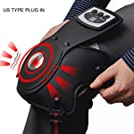 Knee Massager Infrared Magnetic US Type Plug in Therapy Knee Arthritis Elbow Shoulder Pain Rheumatism Vibrate Massager Physiotherapy Instrument