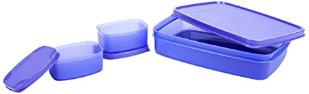 Signoraware Compact Lunch Box, 1.05 litres, Deep Violet Lunch Boxes