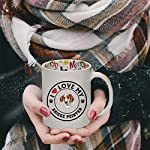 Ceramic Christmas Coffee Mug I Love My Ariege Pointer Dog Style A Funny Tea Cup 11