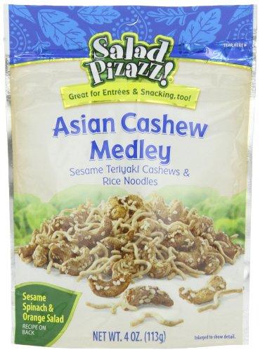 Salad Pizazz Asian Cashew Medley, 4 Ounce (Pack of 12)