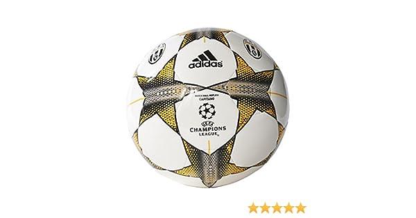 adidas Finale 15 Juventus Capitano Balón, Unisex, Blanco/Gris ...
