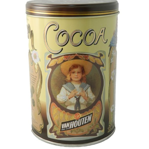 Van Houten : 100% belgian cocoa powder 17.63 Oz : Great for baking and drinking