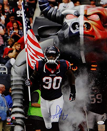 Image Unavailable. Image not available for. Color  Jadeveon Clowney  Autographed Houston Texans ... 1a7520d1e