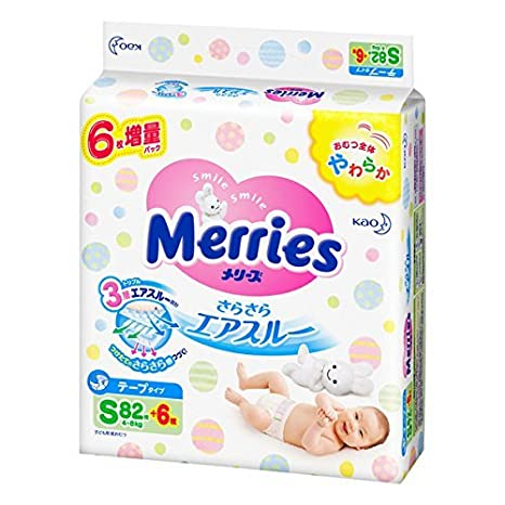 Japanese Diapers Nappies Merries M 6-11 Kg.// Японские подгузники Merries M 6-11 Baby Changing & Nappies Baby