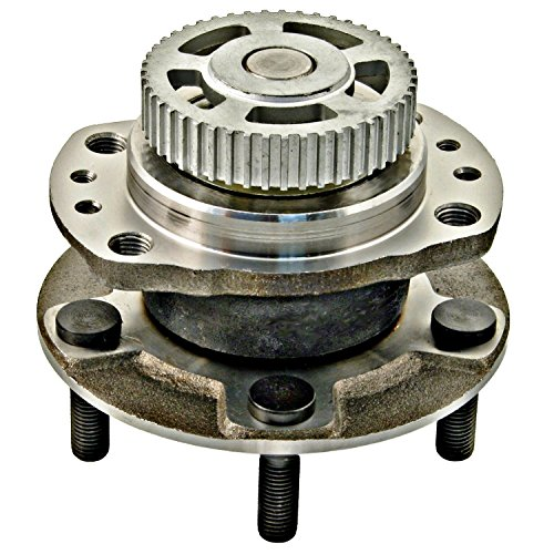 APDTY 512156 Wheel Hub Bearing Assembly Fits Rear Left Or Right 96-00 Chrysler Town & Country, Caravan/Grand Carvan, Plymouth Voyager/Grand Voyager (W/15 In. Wheels, 4-Wheel ABS, Rear Drum Brakes)