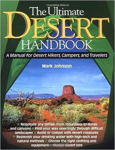 Amazon the ultimate desert handbook a manual for desert hikers the ultimate desert handbook a manual for desert hikers campers and travelers 1st edition kindle edition fandeluxe Gallery