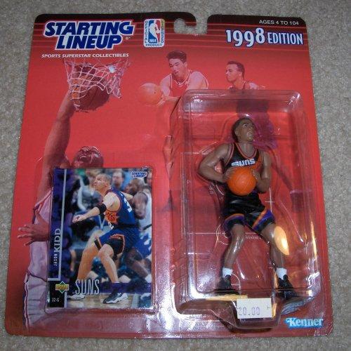 Jason Kidd Basketball Card - 1998 NBA Starting Lineup - Jason Kidd - Phoenix Suns
