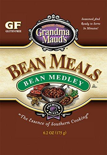 Grandma Maud's Premium Bean Medley Bean Meal 6.2 oz (6 Pack) by Grandma Maud's Bean Meal