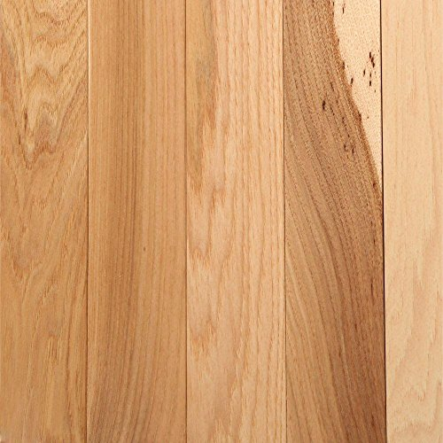 (Hickory Country Natural 3/4 in. Thick x 2-1/4 in. Width x Random Length Solid Hardwood Flooring)