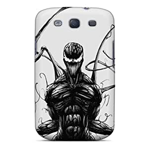 Galaxy High Quality Tpu Case/ Carnage Sketch Black KFJlJsQ1825GtZYW Case Cover For Galaxy S3