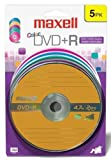 Maxell 639031 Superior Archival Write Once 4.7Gb DVD+R Card Read Compatable with Playback Devices
