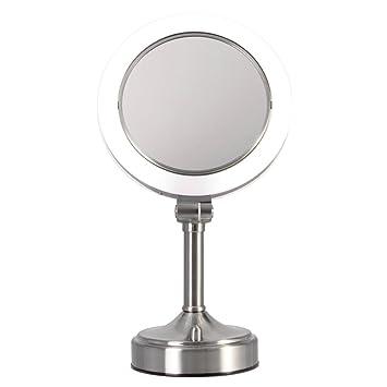 Amazon zadro dimmable sunlight vanity mirror satin nickel zadro dimmable sunlight vanity mirror satin nickel 10x 1x aloadofball Image collections