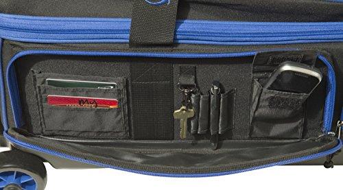 BSI 4301 Triple Roller Bag, Blue/Black by BSI (Image #3)