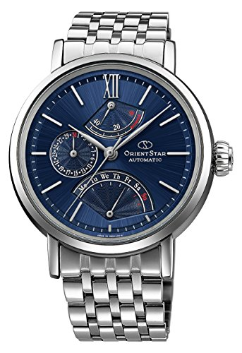 ORIENT mechanical ORIENTSTAR Retrograde WZ0091DE Men's Navy