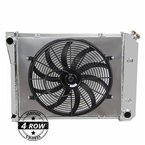 Primecooling 4 Row Core Aluminum Radiator +16