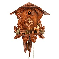 Alexander Taron Importer Weight Driven Black Forest Chalet Style Cuckoo Clock