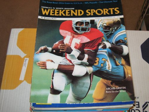 Weekend Sports , America's TV Sports Magazine , The Philadelphia Inquirer Newspaper (Archie Griffin , Rose Bowl , Woody Hayes , Chuck Knox , Paul Brown ,, December 28 , 1975)
