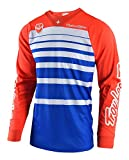 Troy Lee Designs 2018 SE Streamline Jersey-Blue/Orange-L