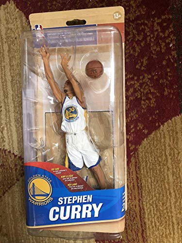 2016 McFarlane Stephen Curry Steph Stef Warriors Action Figure Figurine Statue McFarlane's