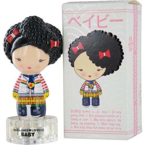 Gwen Stefani Harajuku Lovers Baby Snow Bunnies Eau De Toilette Spray for Women, 0.33 (Harajuku Lovers Baby)