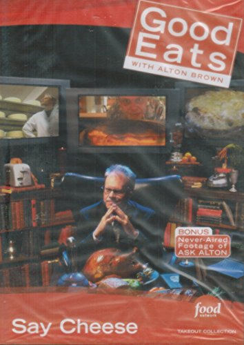 Food Network Takeout Collection DVD - Alton Brown - Say Cheese- Includes: For Whom The Cheese Melts-Grilled Cheese; Egg Files 5-Cheese Souffle; A Bowl Of Onion-Onion Soup