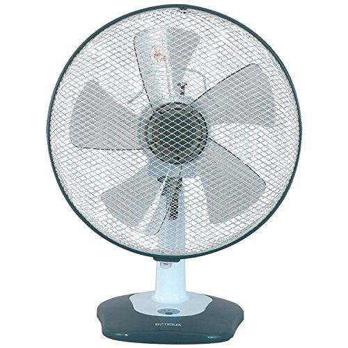 (Optimus F-1212S 12-Inch Oscillating 3-Speed Table Fan with Soft-Touch Switch and LED)