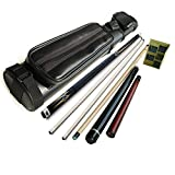 30% Off Combo Cue Set Sale! Champion Gn-905 2 Shaft Pool Cue, Jump and Break Cue, Black 2x2 Cue Case, Aim Trainer, Predator Glove (20 oz, Nemesis Jump and Break Cue)