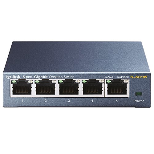 TP Link Ethernet Optimization Unmanaged TL SG105 product image