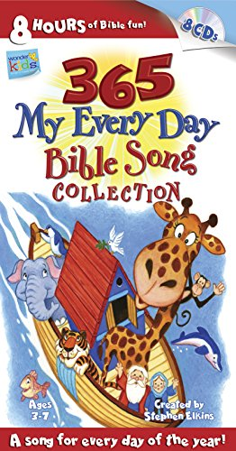365 My Every Day Bible Song Collection (Wonder Kids: Music) (Childrens Jesus Songs)
