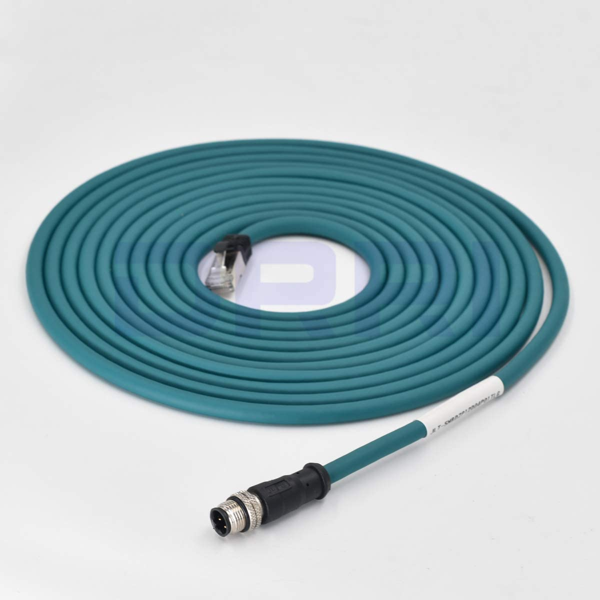 3M DRRI M12 4pin D-Code Male to RJ45 Waterproof Ethernet Shielded Cable for Industrial Ethernet Applications